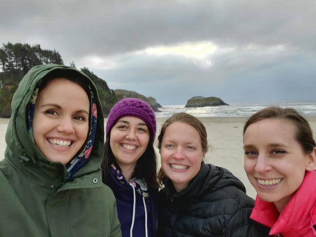 Girls trip to Cannon Beach, Oregon